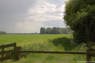 Buurtschap Overboeicop, zicht op natuurgebied Over-Heicop