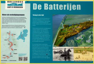 Tekst en uitleg bij De Batterijen aan de Overeindseweg