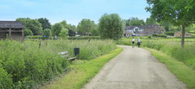 We kijken nog even om naar de mooie buurtschap Overgeul (© alle foto's: Jan Dijkstra, Houten)