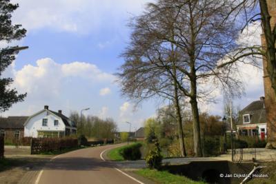 Op de Langbroekerdijk in Overlangbroek