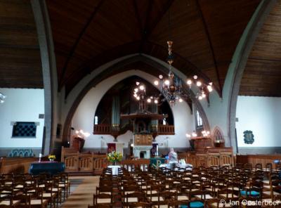 Overschie, Grote Kerk, interieur
