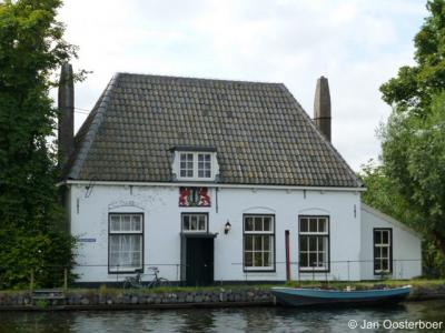 Overschie, Veerhuis van Delft