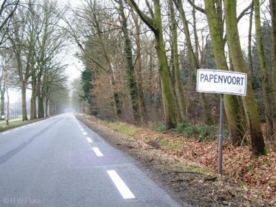 Papenvoort is een buurtschap in de provincie Drenthe, gemeente Aa en Hunze. T/m 1997 gemeente Rolde. De buurtschap ligt buiten de bebouwde kom en heeft daarom witte plaatsnaamborden.