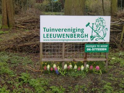 In 1981 hebben de voetbalvelden van R.K. Wit Blauw plaatsgemaakt voor het complex volkstuintjes met tuinhuisjes van Tuinvereniging Leeuwenbergh, aan de noordrand van buurtschap Park Leeuwenbergh.