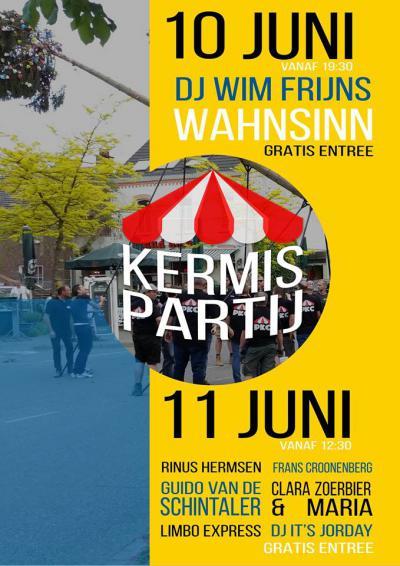 In een weekend in juni is er jaarlijks kermis in Partij, met o.a. kermislunch, halen en plaatsen van de kermisden en diverse live-artiesten en DJ's