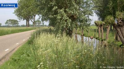 De grens tussen de lintbebouwingen van Peursum en Giessen-Oudekerk ligt niet formeel vast, omdat het voor de postadressen geen officiële woonplaatsen zijn. Vermoedelijk is de Kooiweg in de praktijk de grens tussen de genoemde lintbebouwingen.