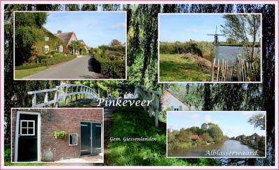 Pinkeveer, collage van buurtschapsgezichten (© Jan Dijkstra, Houten)