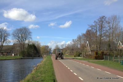Ja dit is echt het landschap van Portengensebrug, hier kun je zeggen Portengensebrug heeft het!