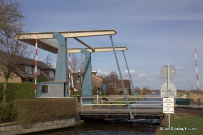 De enige echte Portengensebrug over het water de Groote Heicop
