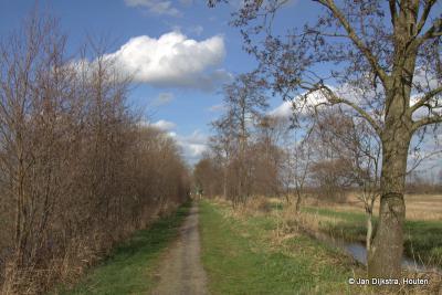Een wandeling over de Veenkade in het uiterste N van buurtschap Portengen, op de grens van de gemeenten Stichtse Vecht en De Ronde Venen