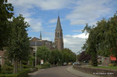 Puiflijk, dorpsgezicht met Sint Johannes de Doper kerk