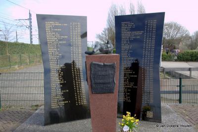 Bij buurtschap Putkop in Harmelen, destijds (t/m 31-3-1964) tevens deels gemeente Kamerik, is in 2012 het monument geplaatst ter herinnering aan de vreselijke treinramp van 1962