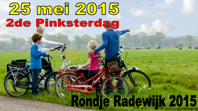 Een van de jaarlijkse evenementen in Radewijk is het Rondje Radewijk op tweede pinksterdag, een fietstocht door de prachtige omgeving van het dorp die ca. 1.500 deelnemers trekt.