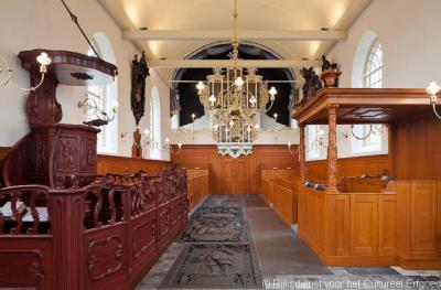 Raerd, interieur Laurentiuskerk