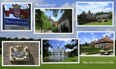 Renswoude, collage van dorpsgezichten (© Jan Dijkstra, Houten)