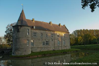 Retersbeek, kasteel Rivieren