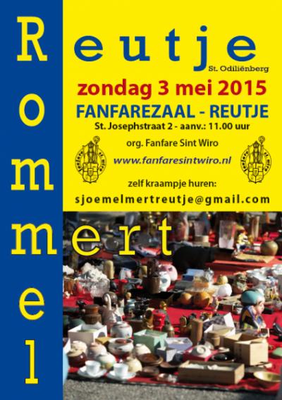 Een van de jaarlijkse evenementen in Reutje is de Sjoemelmert op een zondag in mei