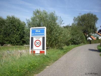 Rha is een buurtschap in de provincie Gelderland, in de streek Achterhoek, gemeente Bronckhorst. T/m 2004 gemeente Steenderen. De buurtschap valt onder het dorp Olburgen.