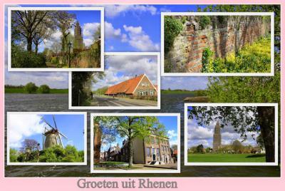 Rhenen is een stad en gemeente in de provincie Utrecht, in de streek Utrechtse Heuvelrug. (© Jan Dijkstra, Houten)