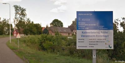In 2015 en 2016 is gewerkt aan kadeverbetering van de Polder Vierambacht-Ridderbuurt, zodat de inwoners er droge voeten houden