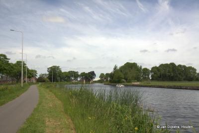 De Oude Rijn bij buurtschap Rietveld