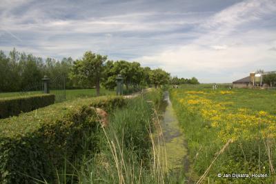 Het prachtige landschap bij buurtschap Rietveld