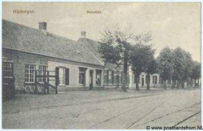 Rijsbergen dorpsgezicht 1917