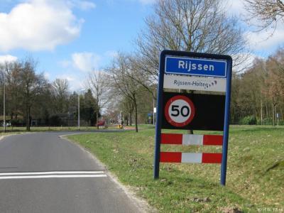 Rijssen is een stad in de provincie Overijssel, in de streek Twente, gemeente Rijssen-Holten. Het was een zelfstandige gemeente t/m 2000.