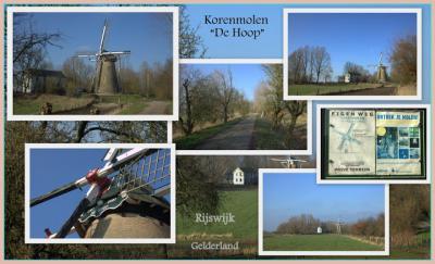 De molen van Rijswijk heet zoals veel molens in ons land heten: De Hoop (© Jan Dijkstra, Houten)