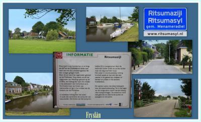 Ritsumasyl, collage van buurtschapsgezichten (© Jan Dijkstra, Houten)