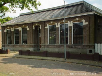 Roden, school De Brink, voorheen Scheepstraschool