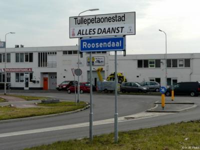 Roosendaal is een stad en gemeente in de provincie Noord-Brabant, in de regio West-Brabant, en daarbinnen in de streek Baronie en Markiezaat. T/m 1996 gemeente Roosendaal en Nispen. Tijdens carnaval heet de stad Tullepetaonestad.