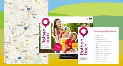 Onder het motto 'Rothenbach: Grenzenlos Shoppen' werken 17 ondernemers uit deze Vlodropse, aan de Duitse grens gelegen buurtschap samen om Duitse 'kooptoeristen' aan te spreken.
