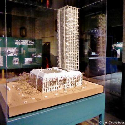 Tijdens de Rotterdamse Architectuur Maand 2019 mocht men nog één keer binnen kijken in het imposante postkantoor aan de Coolsingel in Rotterdam. Er was te zien hoe het complex er na de herbestemming komt uit te zien, met o.a. een 150 meter hoge woontoren.