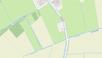 Consequent spellen van plaatsnamen of namen van andere objecten is voor kaartenmakers kennelijk soms een ehh uitdaging; zo komen wij op deze kaart bij buurtschap Rusven een waterloop tegen met de spellingen Rustvenseloop, Rusvenseloop en Rusvensche Loop.