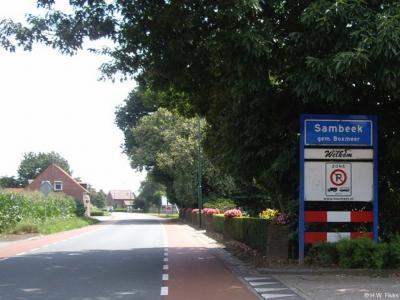 Sambeek is een dorp in de provincie Noord-Brabant, in de regio Noordoost-Brabant, en daarbinnen in de streek Land van Cuijk, gemeente Boxmeer. Het was een zelfstandige gemeente t/m 30-4-1942.