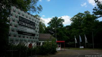 Schaarsbergen, de voormalige militaire complexen Kamp Koningsweg Noord en de Zeven Provinciën worden herontwikkeld tot de 'culturele enclave' Buitenplaats Koningsweg.