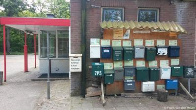 Schaarsbergen, het voormalige Kamp Koningsweg Noord, de huidige Buitenplaats Koningsweg in ontwikkeling, kent zo te zien al vele gebruikers.