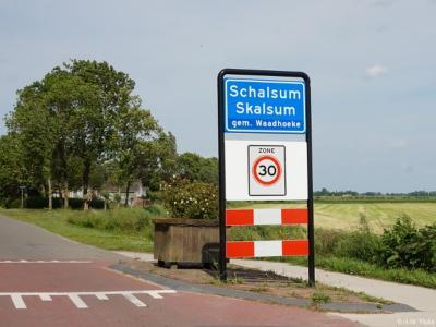 Schalsum is een dorp in de provincie Fryslân, gemeente Waadhoeke. T/m 2017 gemeente Franekeradeel.