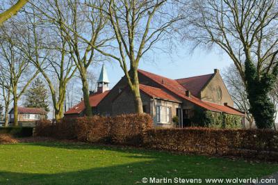 De Schipperskerk van het gelijknamige dorpje