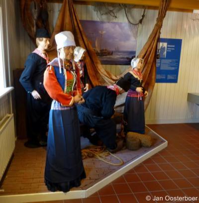 In Museum Schokland o.a. aandacht voor de Schokker klederdracht