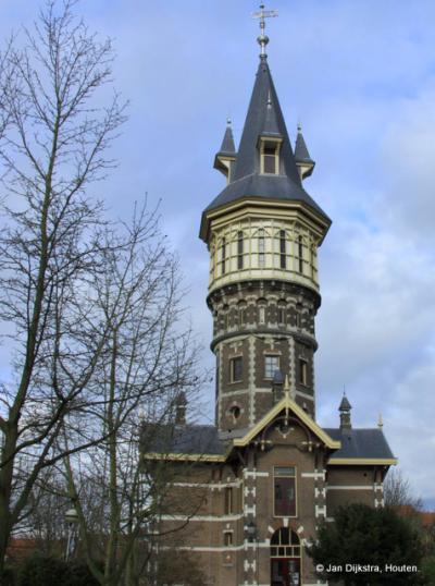 De zeer schilderachtige watertoren van Schoonhoven