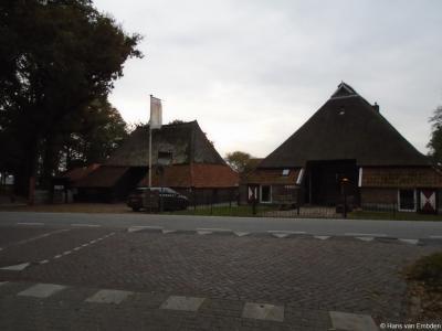 Buurtschap Schuilenburg bij Hellendoorn, Nieuw Twentseweg hoek Schuilenburgerweg