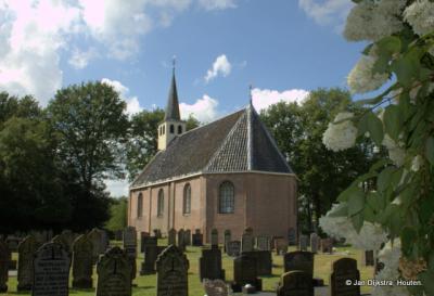 Schurega, kerk vanuit het oosten gezien