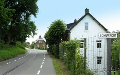 Schuwacht, buurtschapsgezicht nabij de watertoren