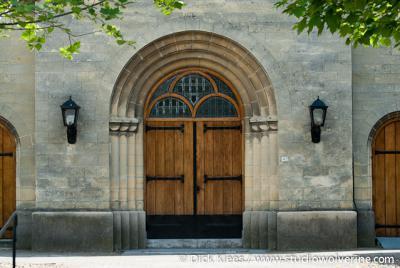 Sibbe, deuren van de RK St. Rozakerk