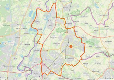 Sittard-Geleen is een gemeente in de provincie Limburg, regio Westelijke Mijnstreek. De gemeente is in 2001 ontstaan uit samenvoeging van de gemeenten Born, Geleen en Sittard. Het is een langgerekte gemeente, met in het N 'het smalste stukje Nederland'.