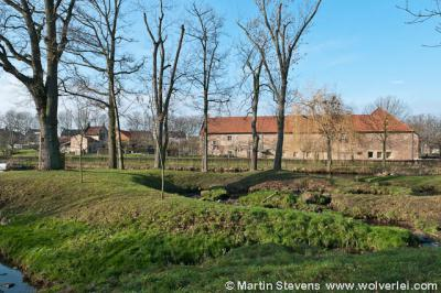 Sittard, de imposante Ophovenerhof uit 1406 is tegenwoordig in gebruik als zorgboerderij en kinderboerderij.