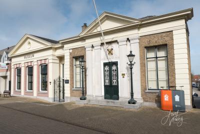 Het Sliedrechts Museum is gevestigd in twee monumentale buurpanden: het voormalige (eerste) Raadhuis en het voormalige Kantongerecht. (© Joost Verweij)