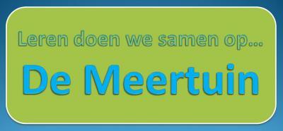 In 2014 is in Slootdorp samenwerkingsschool De Meertuin ontstaan, uit een fusie van ABBS De Regenboog en PCB De Zaaier. De verzuiling voorbij, en daar is men trots op. Met hart en hoofd wordt gewerkt aan goed onderwijs in de brede zin van het woord.